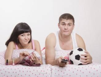 Verkiezen mannen voetbal echt boven seks?