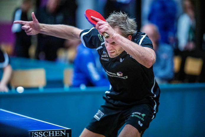 Trinko Keen maakte zijn eredivisiedebuut bij Hercules in Terborg. Foto Jan van den Brink