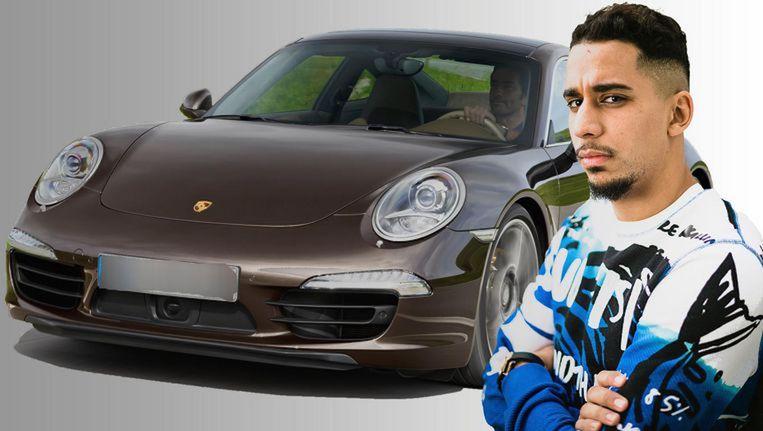 Yassine El Ghanassy (28) pleegde de meeste inbreuken met z'n Porsche, die intussen verbeurd verklaard is.