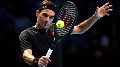 Federer wint nu wel op de Masters, Berrettini is het kind van de rekening