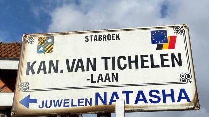 Kanunnik Van Tichelenlaan, een straat vernoemd naar een vermaarde Stabroekenaar