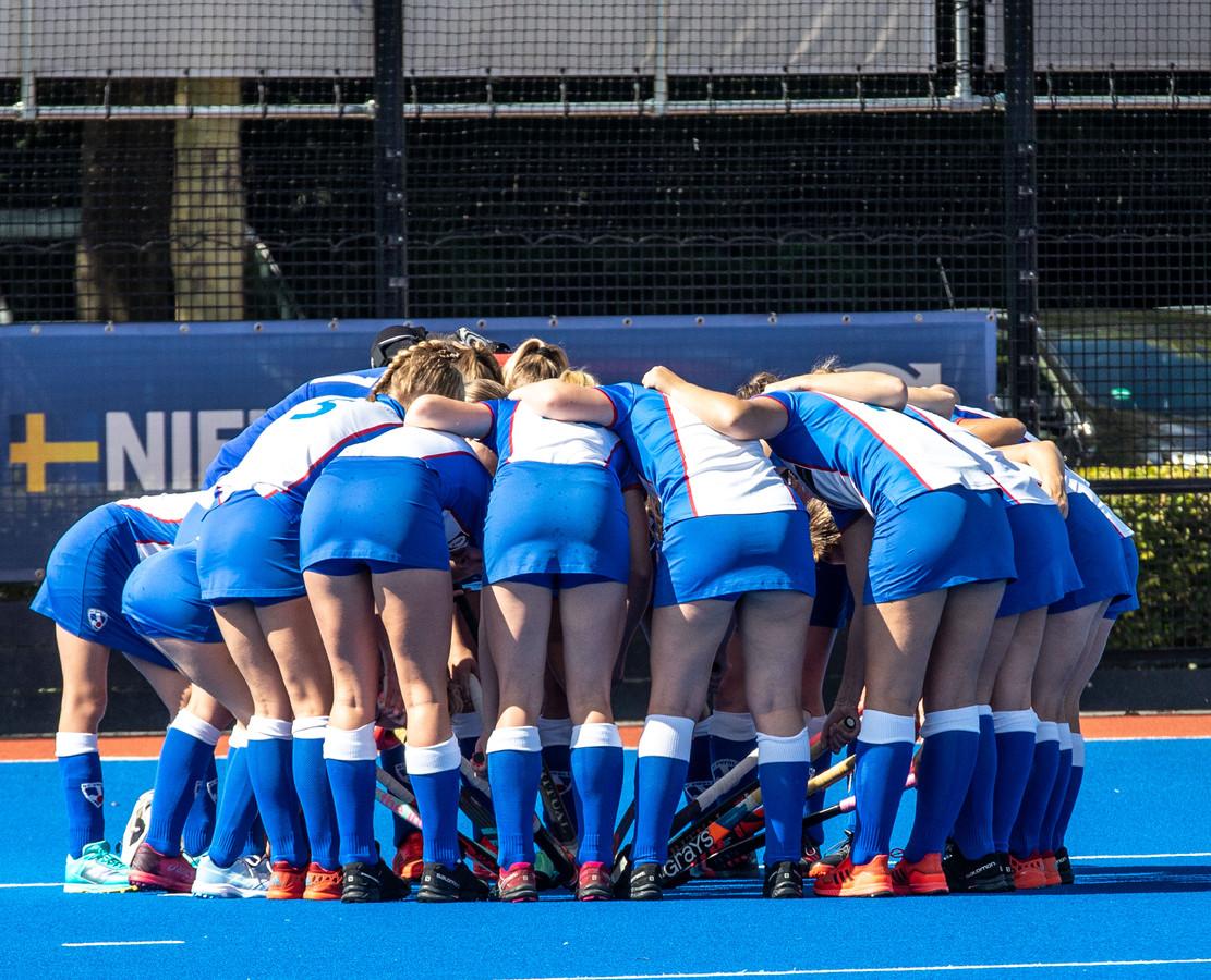De vrouwen van HC Zwolle begonnen met een kleine nederlaag aan het nieuwe seizoen.