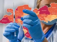 CORONAKAART | Meer besmettingen in regio, infecties flakkeren op in Achterhoek en West-Betuwe