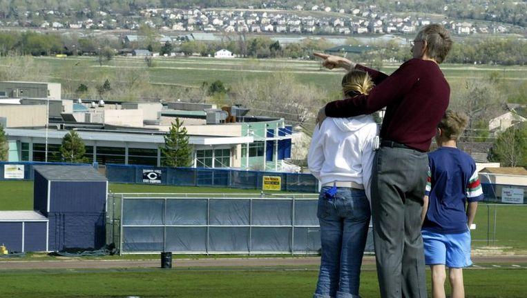 Archieffoto Columbine High School. Foto EPA Beeld