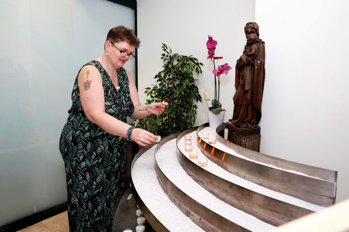 Bezoekster Erika van der Weijden komt al haar hele leven in het stiltecentrum.