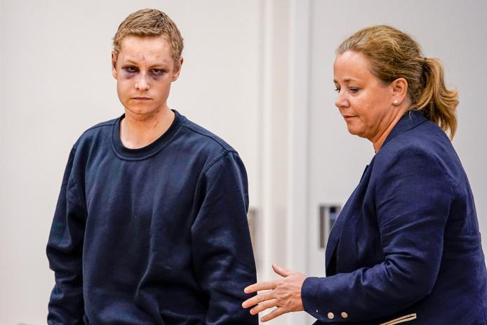 Philip Manshaus, le suspect, et son avocate