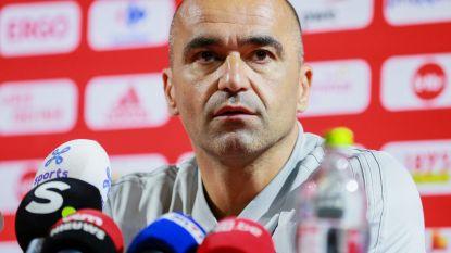 """Martínez, die bevestigt dat De Bruyne vandaag kan spelen: """"Egypte is verdedigend erg sterk. Het wordt een goede test voor ons"""""""
