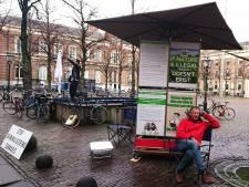 Actie van Kamperman in Den Haag gaat wereld over