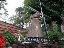 Kevin Strijker (37) wordt mini-molenaar van omgebouwde tuinmolen