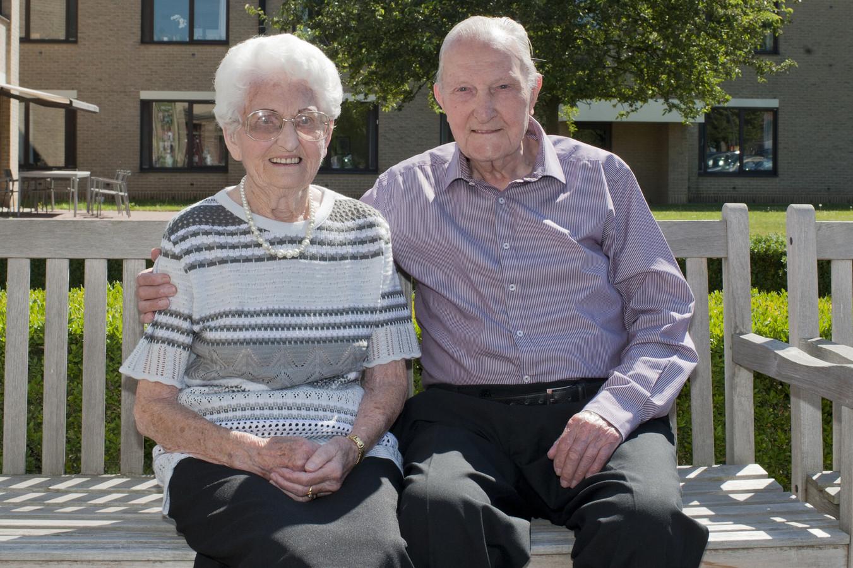 Victoire en Henrik zien elkaar na 70 jaar nog altijd even graag.