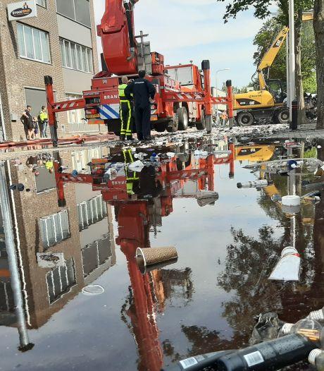 Brandweer zette 58 wagens in om brand Tilburg te bestrijden: 'Vuur mocht niet overslaan, dat was prioriteit één'