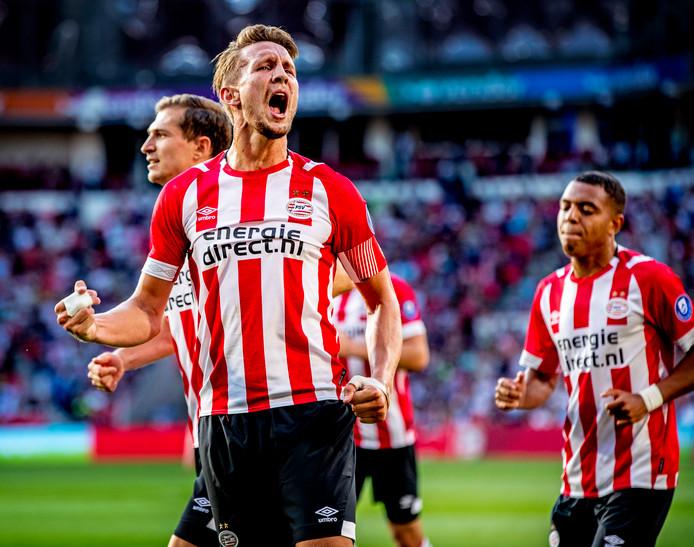 Luuk de Jong is ook dit seizoen aanvoerder van PSV.