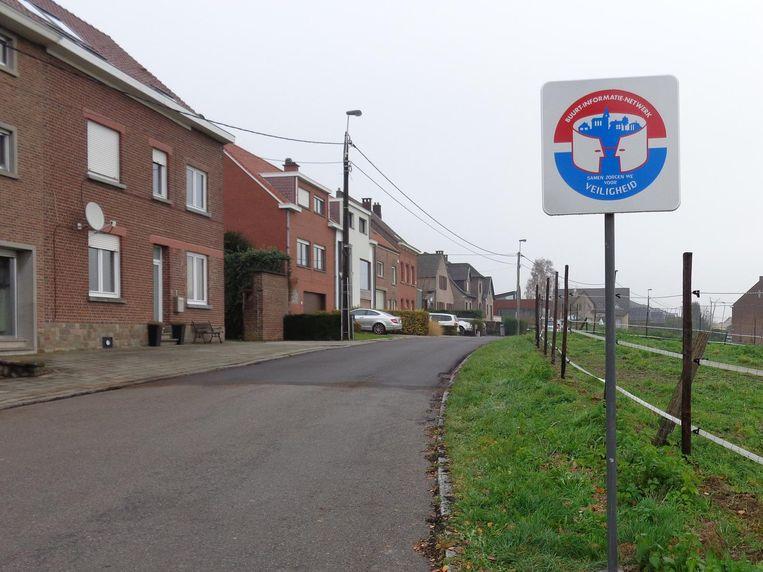Dit bord geeft aan dat er een buurtinformatienetwerk (BIN) actief is in de desbetreffende wijk.