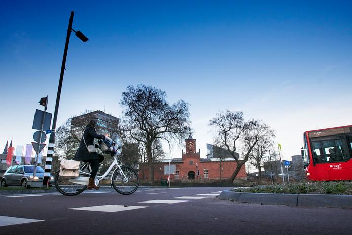 De hoek Wal-Bilderdijklaan in Eindhoven.