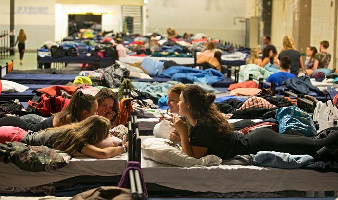 Studenten doen mee aan de introductieweek in Eindhoven. Foto ter illustratie.