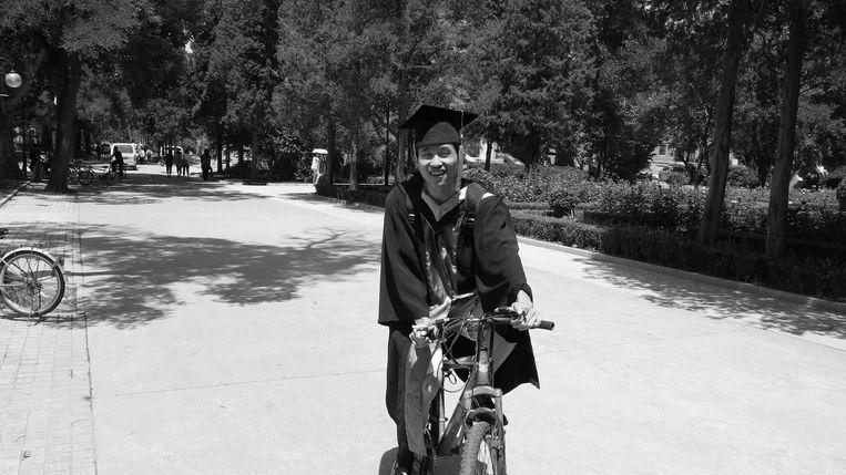 De Leidse sterrenkundige Maolin Zhang. Beeld Universiteit Leiden