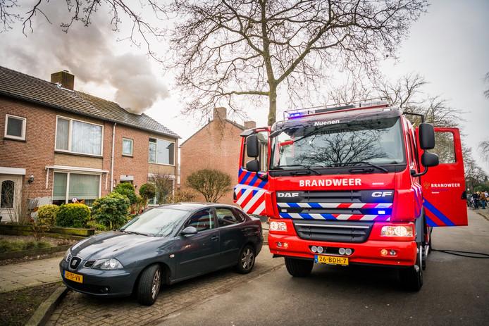 Zolderbrand in Nuenen.