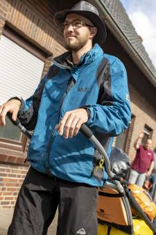 Twentse Daan (24) loopt 2.000 kilometer lange tocht naar Compostella in z'n eentje