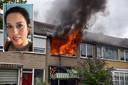 Jaqueline van Heugten zag haar woning uitbranden in Tilburg, terwijl haar zoon boven sliep.