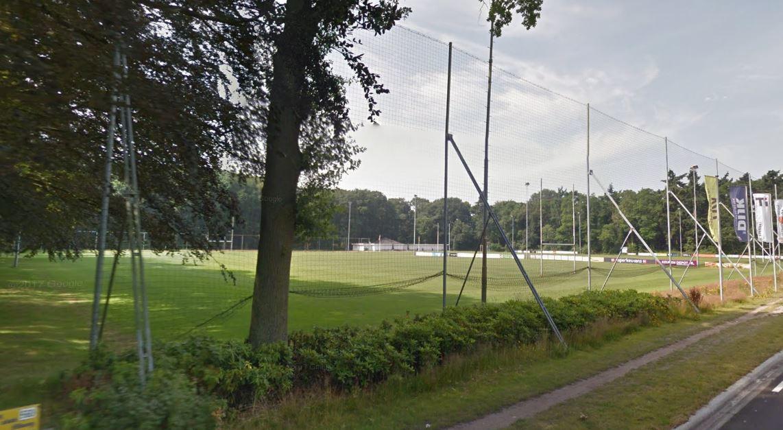 De rugbyvereniging langs de Bredaseweg.