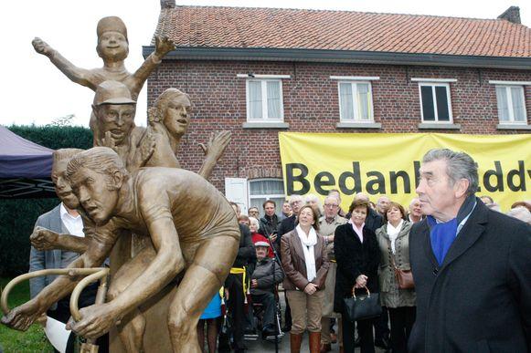 De Eddy Merckx route, die ook aan het standbeeld van de wielergod in Meensel-Kiezegem passeert, is een van de vijf fietsroutes die de provincie Vlaams-Brabant de komende weken als challenge in petto heeft.