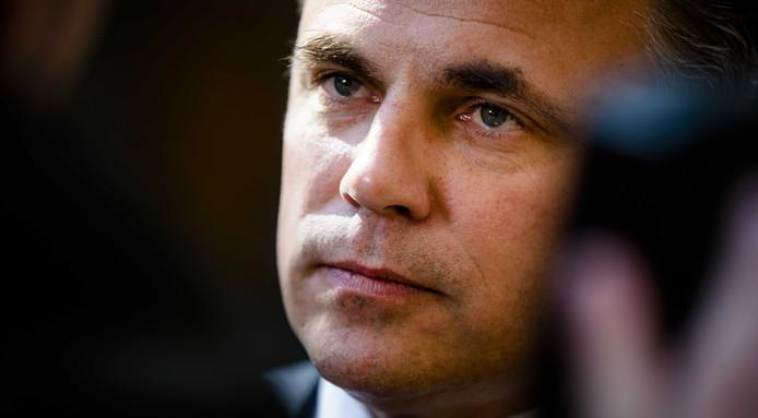 Staatssecretaris Mark Harbers van Justitie en Veiligheid