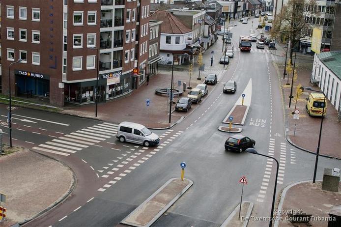 De kruising Kuipersdijk/Mooienhof in Enschede is de gevaarlijkste van Nederland