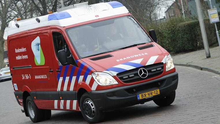 Een Snel Interventie Voertuig (SIV) van de brandweer Rotterdam-Rijmond. © ANP Beeld
