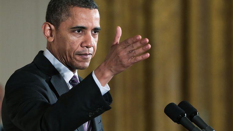 Barack Obama Beeld getty