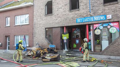 Studio onbewoonbaar na hevige brand