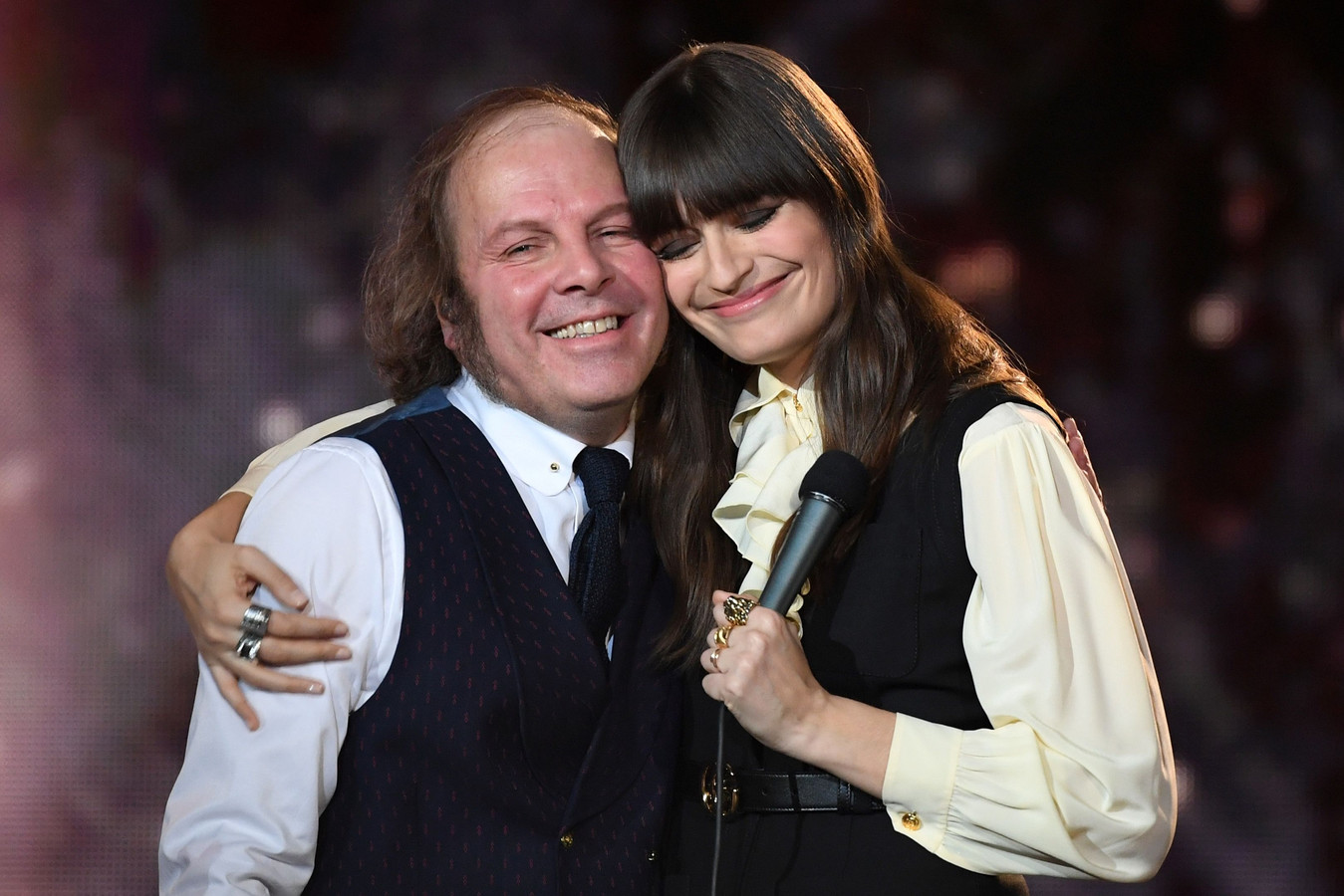 Clara Luciani et Philippe Katerine.