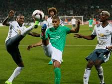 VIDEO: Tien man United winnen bij Saint-Etienne