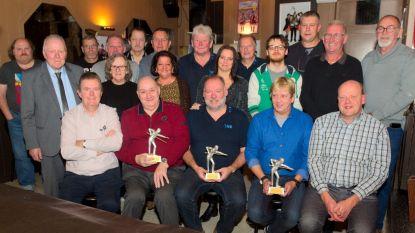 Kampioenen bekend van 65ste Individueel Biljartkampioenschap van Temse