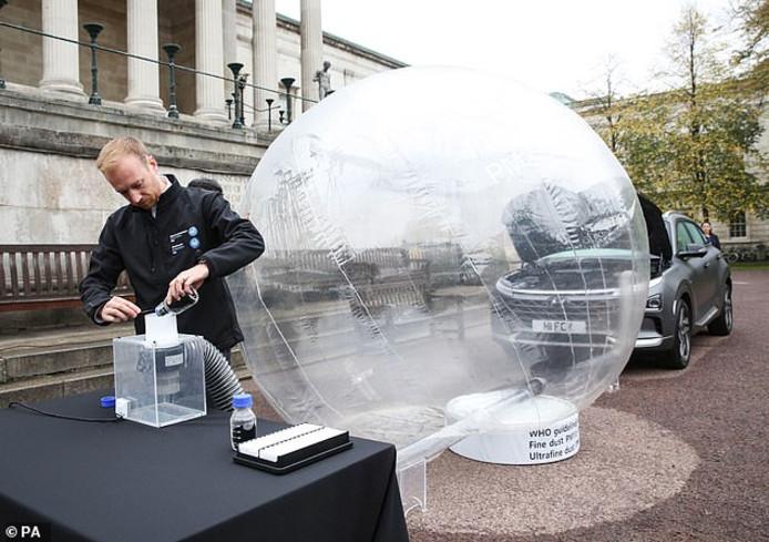 De Nexo filtert 99,9 % van de vieze deeltjes uit de lucht.