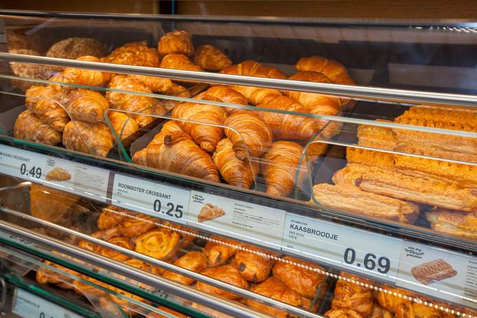 Een flink aantal Aldi-winkels in Nederland is al uitgebreid met een bakkerij.