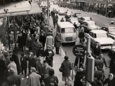 In 1958 gold er ook eenrichtingsverkeer op de stoep, maar net als nu hield niet iedereen zich eraan