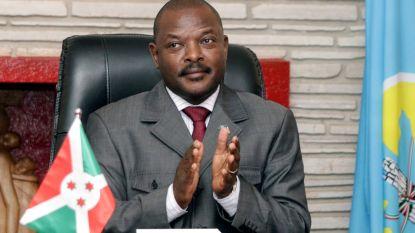 Burundese president Pierre Nkurunziza  overleden aan hartaanval