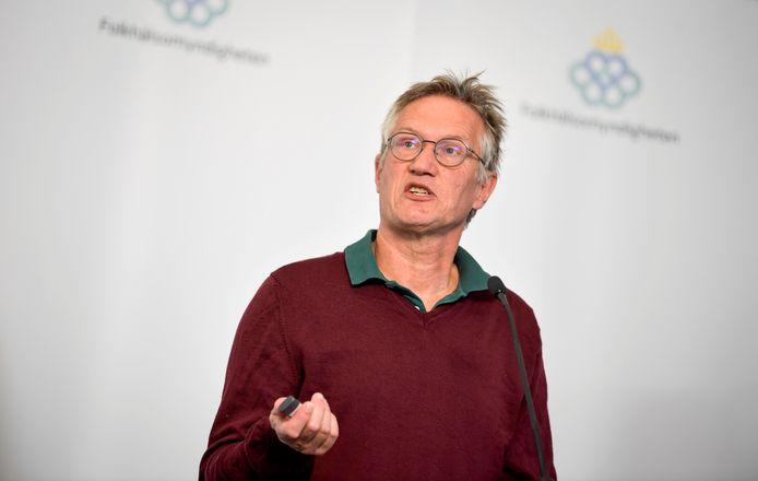 L'épidémiologiste suédois Anders Tegnell
