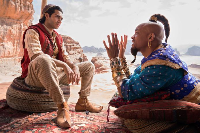 Een beeld uit 'Aladdin'.