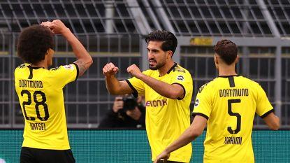 Dortmund pakt zuinige zege tegen Hertha: Emre Can scoort enige doelpunt