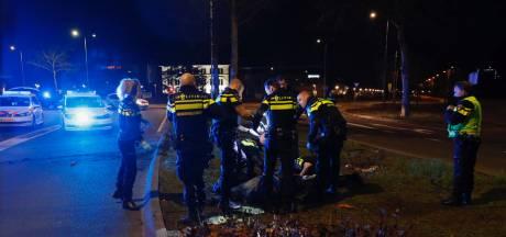 Gestolen auto crasht na achtervolging in Eindhoven: bestuurder gewond
