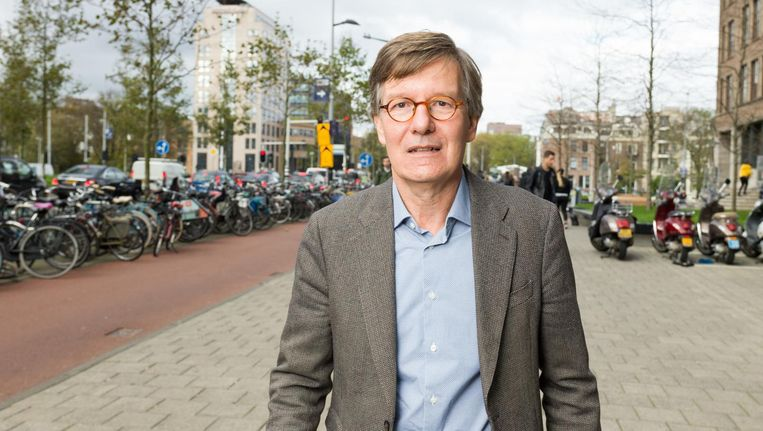 HvA-bestuurder Huib de Jong: 'Het gaat niet om de vraag of ik ook ergens een mening over heb' Beeld Ivo van der Bent