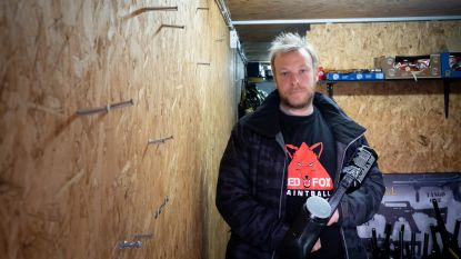Dieven stelen twaalf wapens bij Red-Fox paintball