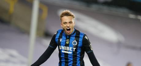 Club Brugge wint dankzij fraaie treffer Lang nipt van KV Kortrijk