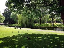 Op welke manier komt het Ravelijn terug in het stadspark van Steenbergen?