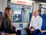 GrensWerk informeert reizigers in trein van Enschede naar Münster