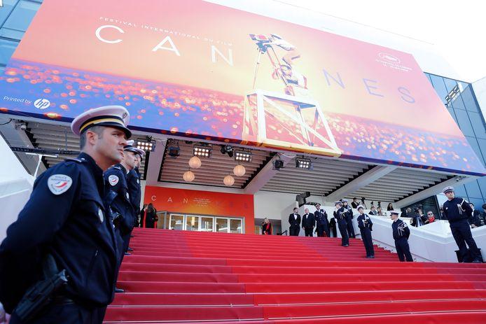 Geen rode loper dit jaar in Cannes voor het jaarlijkse filmfestival.