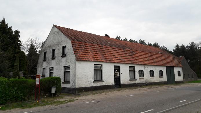 De boerderij aan Maaij 1 in Bergeijk