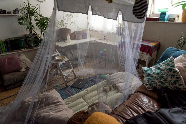'Leidsegracht, Centrum, 92 dagen' Beeld Lisa Maatjens