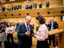 Frans Banninck Cocqpenning voor rabbijn Ten Brink